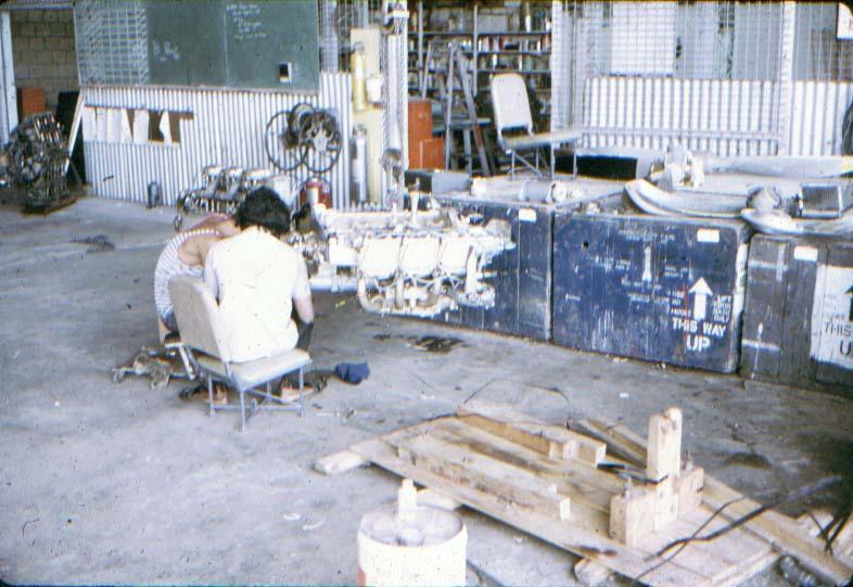 BD/37/12 - Hangar/werkplaats van de zending