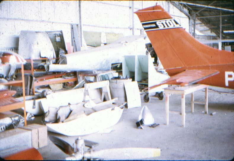 BD/37/13 - Hergebruik van een afgedankt vliegtuig door de missie